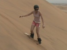 namibia sand boarding